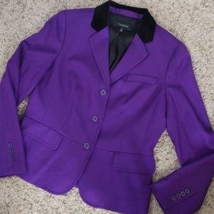 Talbots Wool (99%) 1% spandex Blazer sz 10